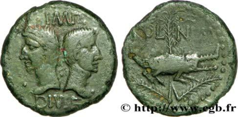 As et dupondius de Nîmes - Page 37 11,54g_26,5mm