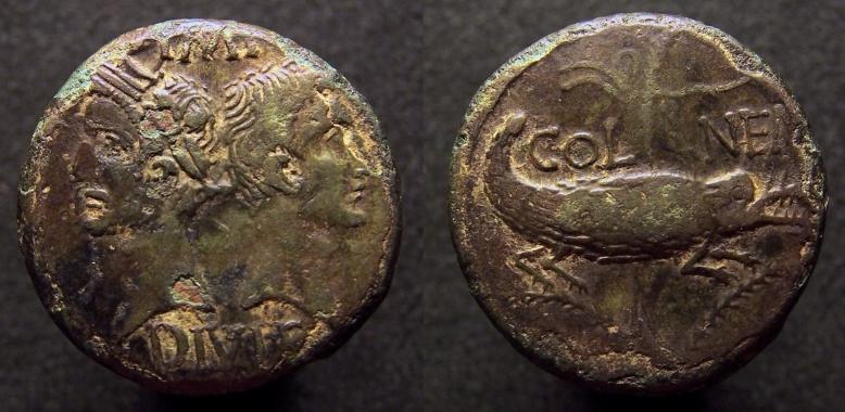 As et dupondius de Nîmes - Page 2 11,72g_26mm_3h_cp_rz