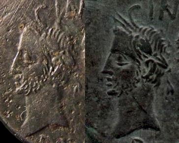 As et dupondius de Nîmes C1_same_right_coin